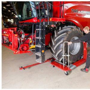 Hjullyft mekanisk vagn för traktorer  # CAT-SR-1500N