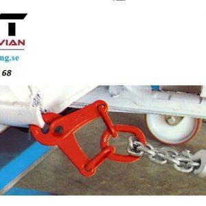 Dragkrampa 45 mm # STA-144