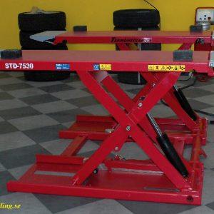 Saxlyft 3,0 ton lyfthöjd  1000 mm