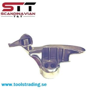 Rostfritt stål Monterings / demonterings huvud  med avsmalnande hål för Coats Däckmaskiner