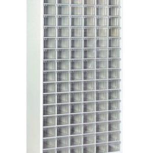 Plastlåd kabinett med 108 plastlådor golv modell #SMBL-TMD-140