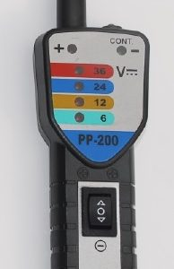 Automotive Multi Tester PP200, DC 0 -36V # ART NR 67-PP-200