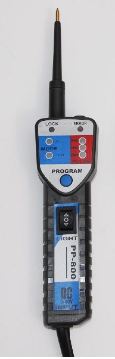 Multitester PP800, testa bränsleinjektorer # 67-PP-800
