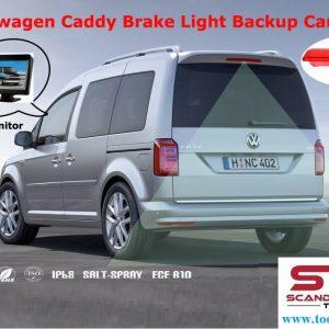 Bromsljus passande Volkswagen Caddy med inbyggd back kamera   # BR-RVC07-VC