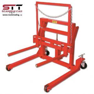 Hjullyft för tunga fordon , dolly vagn  # JAC-WD1250