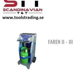 A/C  återvinningsenhet Köldmedium gas  # WT-FAREN-2