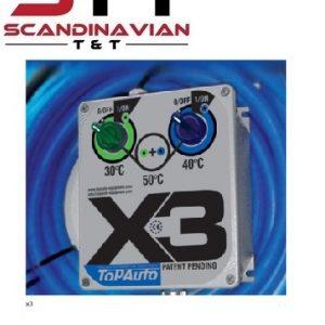 TOPAUTO X3 Värmesystem för lackeringsfärg # TAS-TOPAUTO-X3