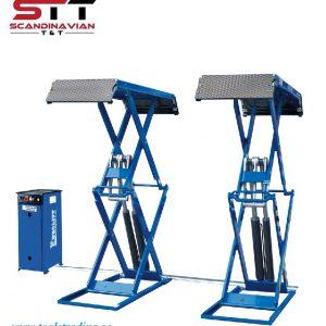 Saxlyft  Elektro hydrauliska dubbel 3200 KG #  art nr EUR-Z25