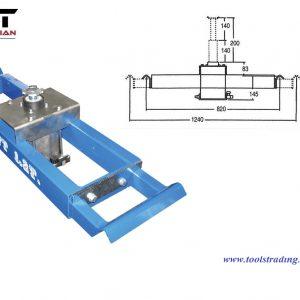 Frihjulslyftlyft  1,200 kg Luft pneumatisk # EUR-Z34