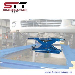 Frihjulslyftlyft  2000 kg luft med handpump # EUR-Z36