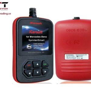 iCarsoft Multi-system Scanner i909 för Mitsubishi / Mazda + OBD II #IC-i909