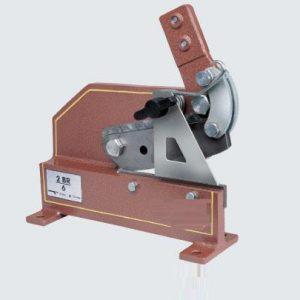 Plåtsax bänk  4 mm  art nr 798-2BR/4